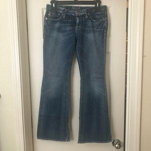 Women's big star blue jeans size 30R